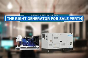 Generator for Sale Perth