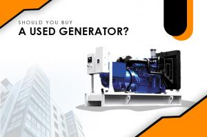 Should You Buy A Used Generator Perth