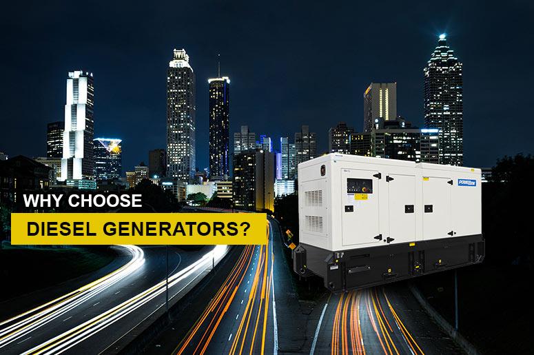 Why Choose Diesel Generators Perth