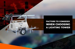 Why Choose A Lighting Tower