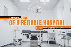Hospital Backup Generator Australia