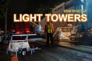 How To Setup Light Towers Australia